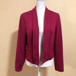 ALYX Size 14 Fuchsia Pink Work Blazer Fitted Short